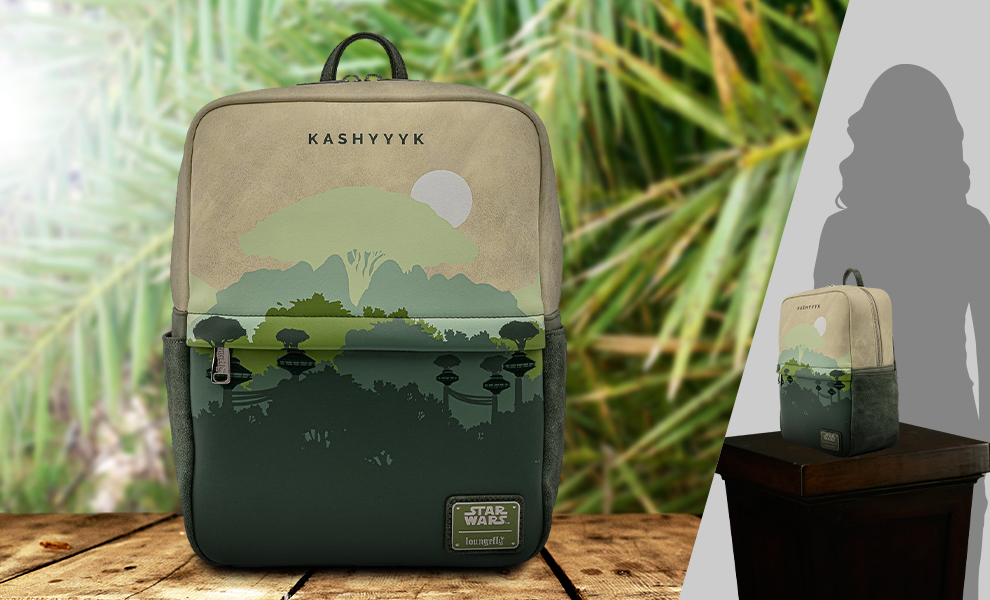 Gallery Feature Image of Kashyyyk Square Mini Backpack Apparel - Click to open image gallery
