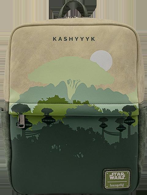 Loungefly Kashyyyk Square Mini Backpack Apparel