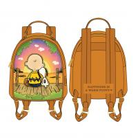 Gallery Image of Charlie and Snoopy Sunset Mini Backpack Apparel