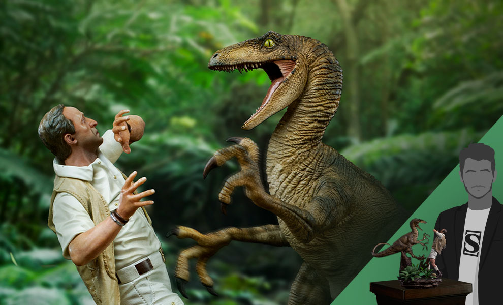 Gallery Feature Image of Clever Girl Deluxe 1:10 Scale Statue - Click to open image gallery