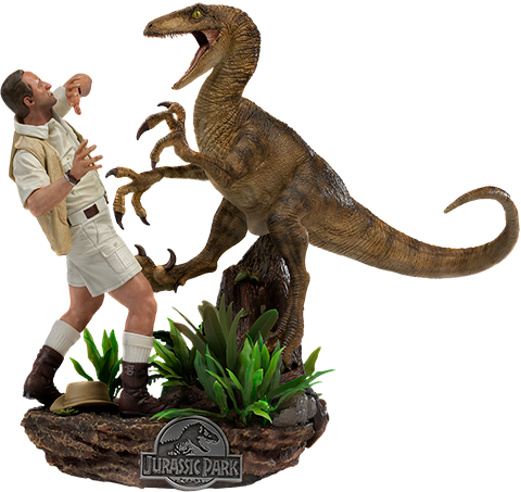 Iron Studios Clever Girl Deluxe 1:10 Scale Statue