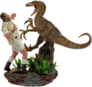 Clever Girl Deluxe 1:10 Scale Statue