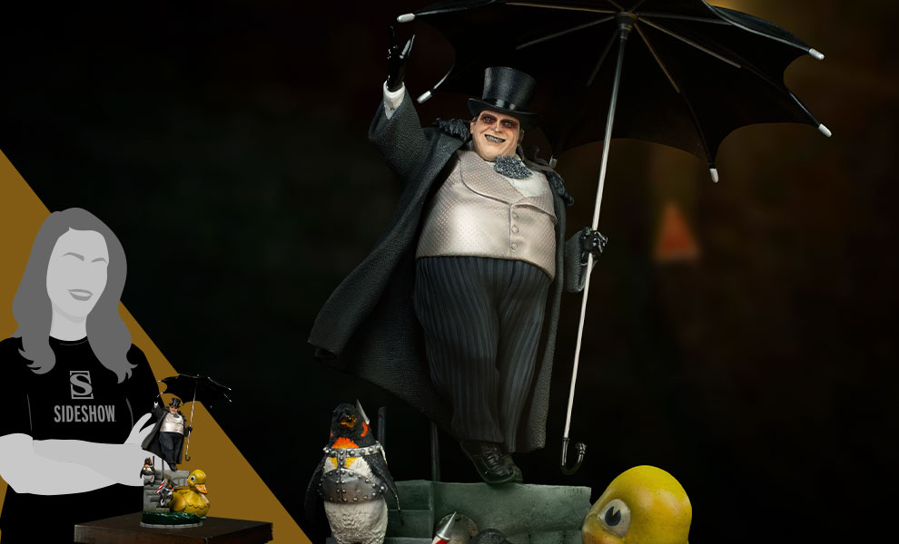 Gallery Feature Image of Penguin Deluxe 1:10 Scale Statue - Click to open image gallery