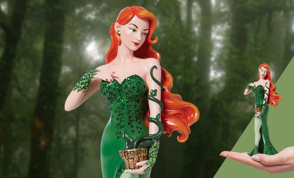 Gallery Feature Image of Poison Ivy Couture de Force Figurine - Click to open image gallery