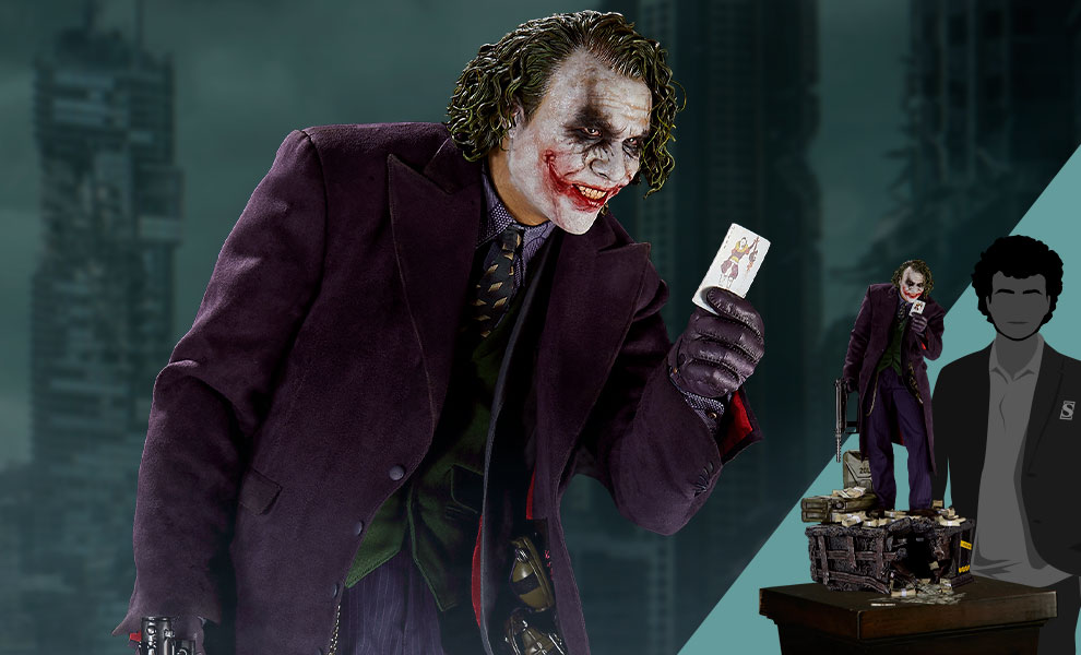 Gallery Feature Image of The Joker (Bonus Version) Statue - Click to open image gallery