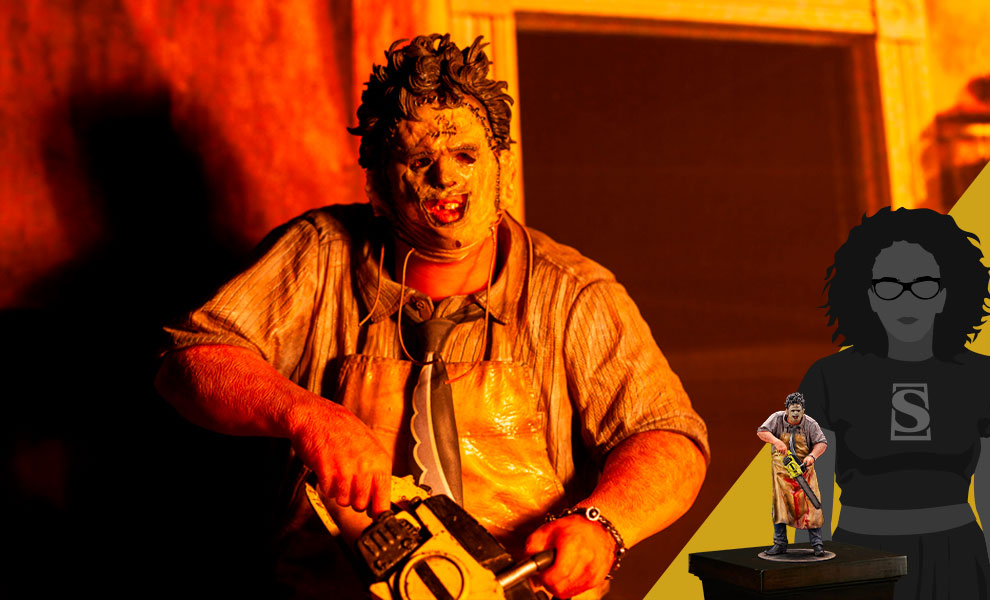 Gallery Feature Image of Leatherface Statue - Click to open image gallery