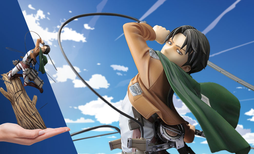 Gallery Feature Image of Levi (Renewal Package Variant) Statue - Click to open image gallery