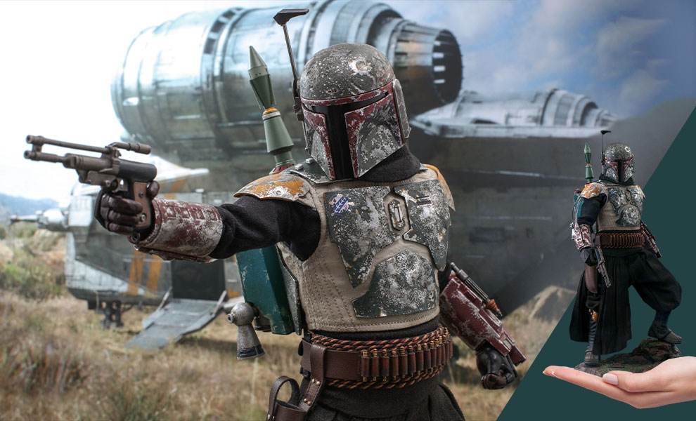 Gallery Feature Image of Boba Fett™ Sixth Scale Figure - Click to open image gallery