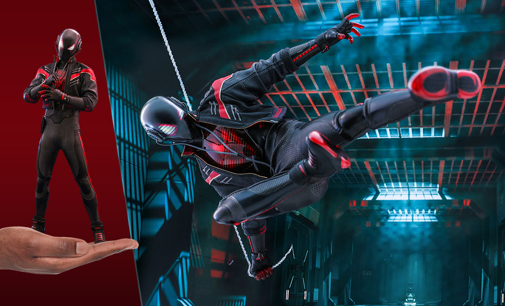 Gallery Feature Image of Miles Morales (2020 Suit) Sixth Scale Figure - Click to open image gallery