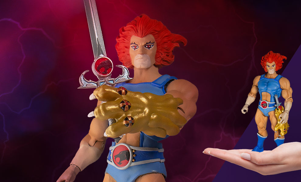 Gallery Feature Image of Lion-O Action Figure - Click to open image gallery