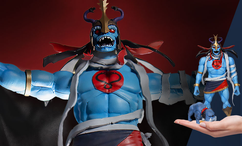 Gallery Feature Image of Mumm-Ra the Ever-Living with Ma-Mutt Collectible Set - Click to open image gallery