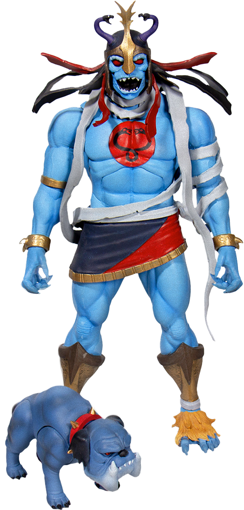 Super 7 Mumm-Ra the Ever-Living with Ma-Mutt Collectible Set