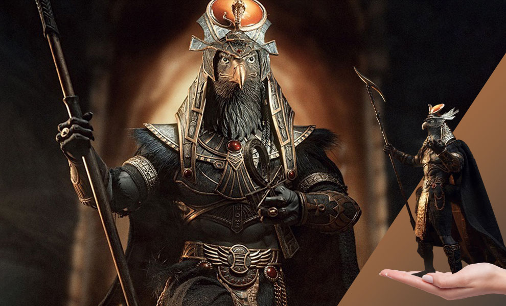Gallery Feature Image of Ra the God of Sun (Golden) Sixth Scale Figure - Click to open image gallery