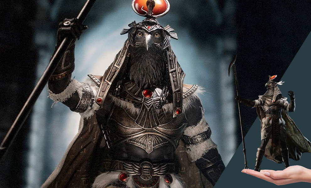 Gallery Feature Image of Ra the God of Sun (Silver) Sixth Scale Figure - Click to open image gallery
