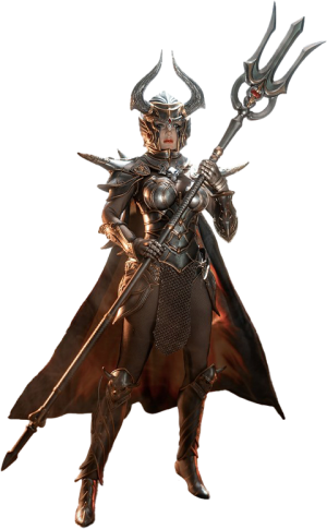 Knight of Fire (Silver) Sixth Scale Figure