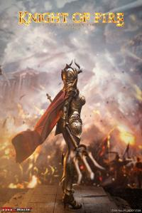 Gallery Image of Knight of Fire (Golden) Sixth Scale Figure