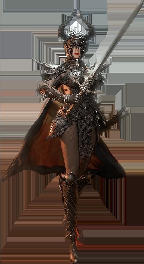 TBLeague Knight of Fire (Black) Sixth Scale Figure