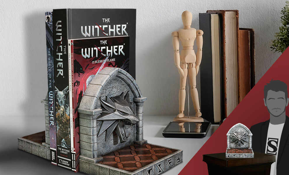 Gallery Feature Image of The Witcher 3: Wild Hunt Bookends Office Supplies - Click to open image gallery