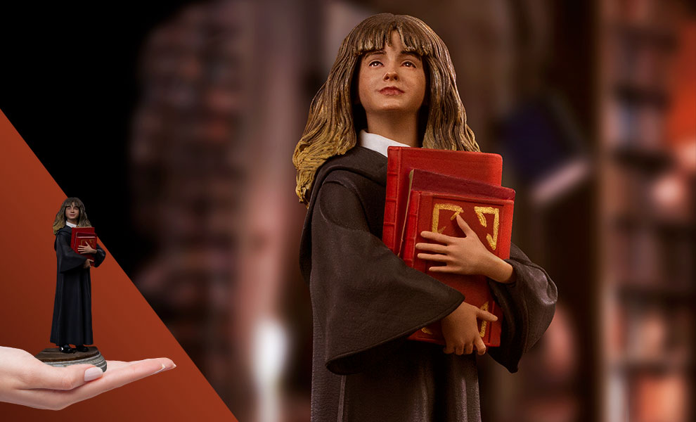 Gallery Feature Image of Hermione Granger 1:10 Scale Statue - Click to open image gallery