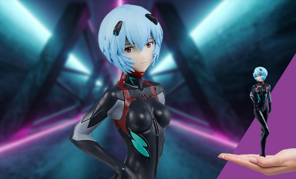 Gallery Feature Image of Rei Ayanami (Eva-13 Starting!) Collectible Figure - Click to open image gallery