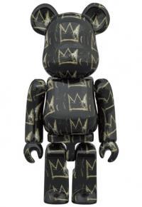 Gallery Image of Be@rbrick Jean Michel-Basquiat #8 100% & 400% Bearbrick
