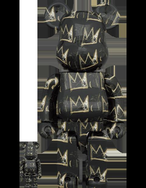 Medicom Toy Be@rbrick Jean Michel-Basquiat #8 100% & 400% Bearbrick