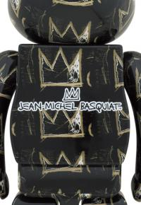 Gallery Image of Be@rbrick Jean Michel-Basquiat #8 1000% Bearbrick