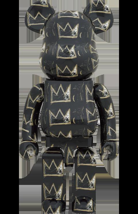 Medicom Toy Be@rbrick Jean Michel-Basquiat #8 1000% Bearbrick