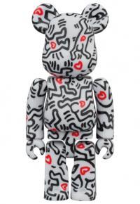 Gallery Image of Be@rbrick Keith Haring #8 100% & 400% Bearbrick