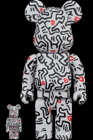 Be@rbrick Keith Haring #8 100% & 400% Bearbrick