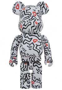 Gallery Image of Be@rbrick Keith Haring #8 1000% Bearbrick