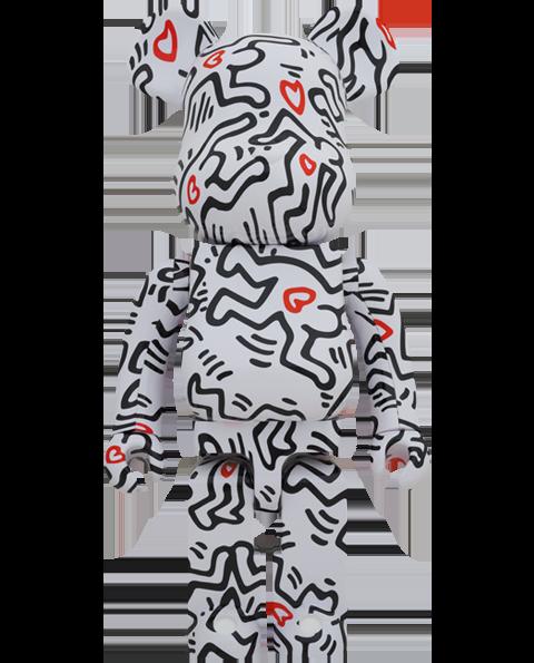 Medicom Toy Be@rbrick Keith Haring #8 1000% Bearbrick