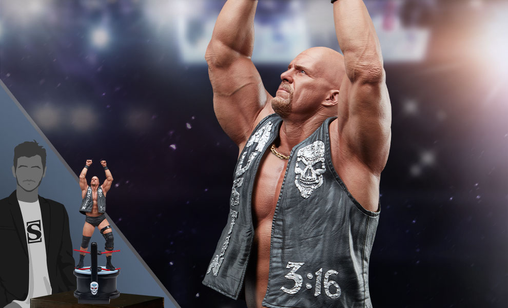 """Gallery Feature Image of """"Stone Cold"""" Steve Austin Statue - Click to open image gallery"""
