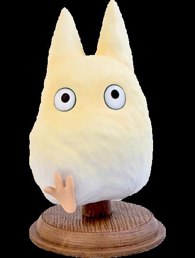 Found You! Small White Totoro Statue