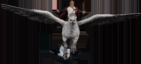 Iron Studios Harry Potter & Buckbeak Deluxe 1:10 Scale Statue