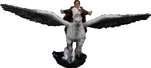 Harry Potter & Buckbeak Deluxe 1:10 Scale Statue