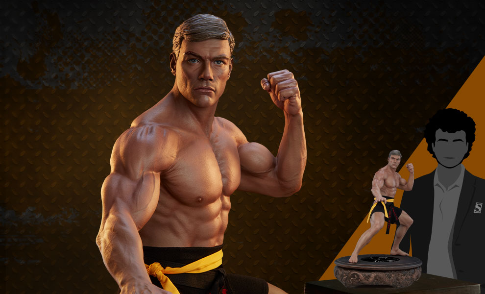 Gallery Feature Image of Jean-Claude Van Damme: Shotokan Autograph Edition Tribute 1:3 Scale Statue - Click to open image gallery