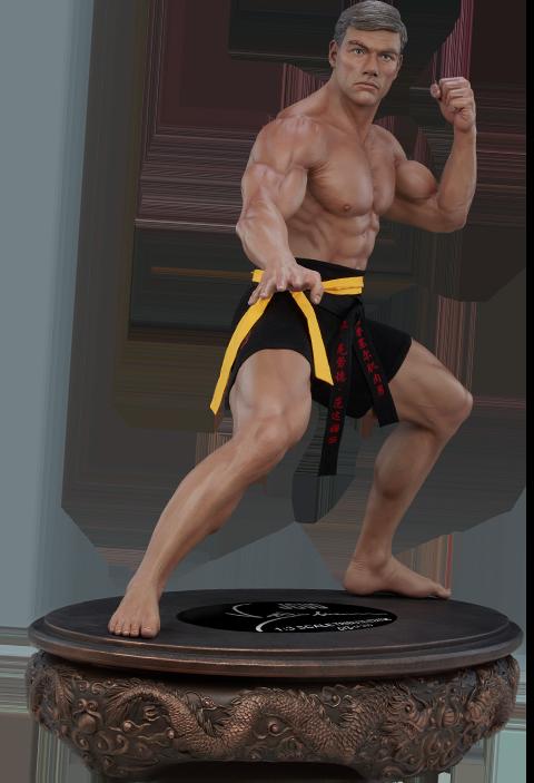 PCS Jean-Claude Van Damme: Shotokan Autograph Edition Tribute 1:3 Scale Statue