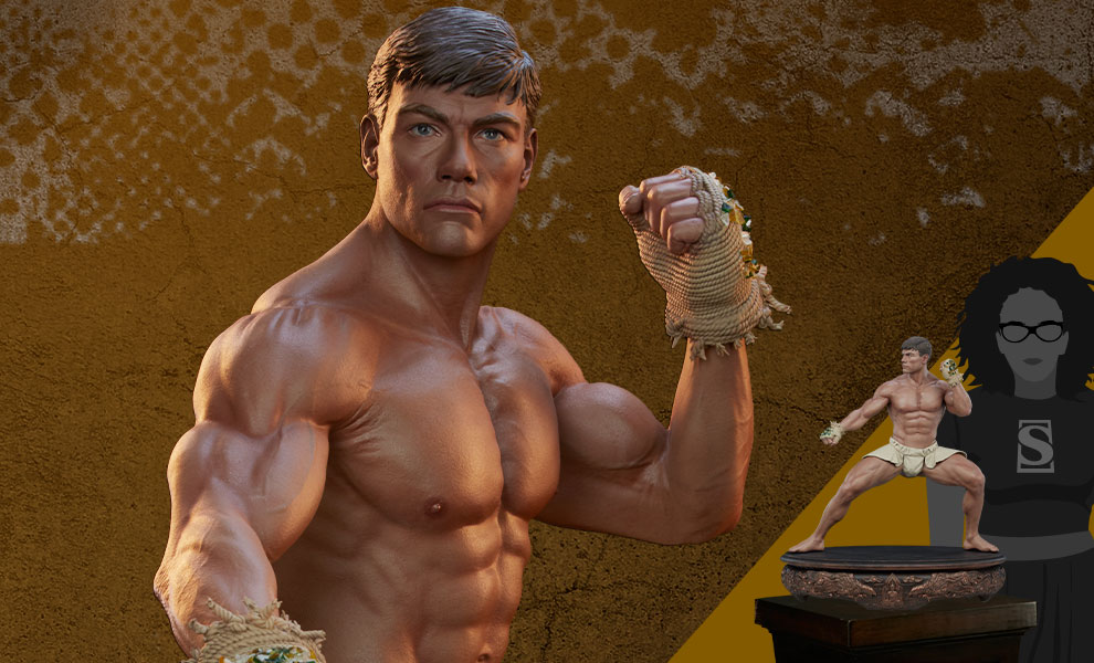 Gallery Feature Image of Jean-Claude Van Damme: Muay Thai Tribute 1:3 Scale Statue - Click to open image gallery