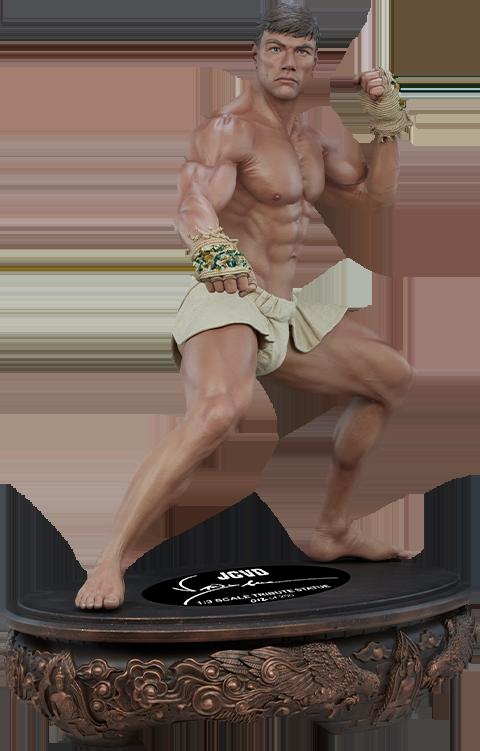 PCS Jean-Claude Van Damme: Muay Thai Autograph Edition Tribute 1:3 Scale Statue