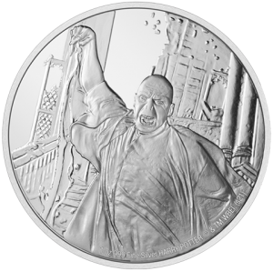 Lord Voldemort 1oz Silver Coin Silver Collectible
