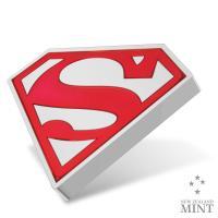 Gallery Image of Superman Shield 1oz Silver Coin Silver Collectible