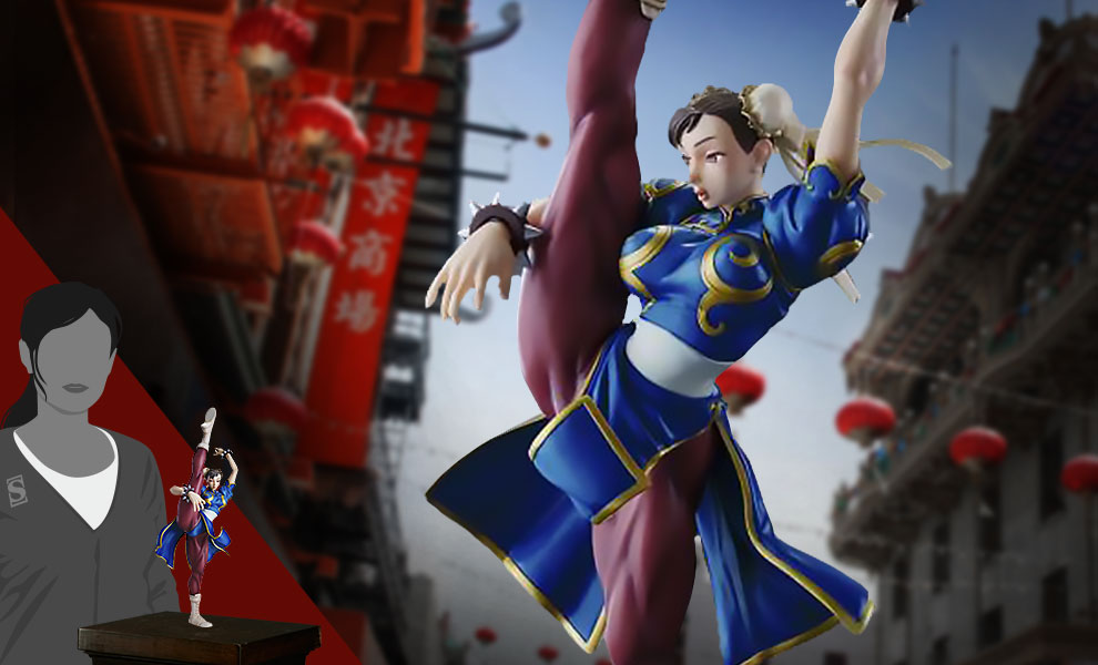 Gallery Feature Image of Chun-Li Statue - Click to open image gallery