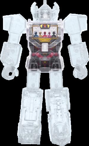 Megazord – Super Cyborg (Clear) Collectible Figure