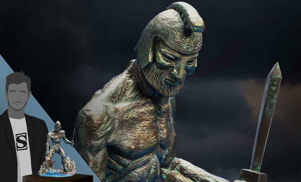Gallery Feature Image of Talos (Deluxe Version) Statue - Click to open image gallery