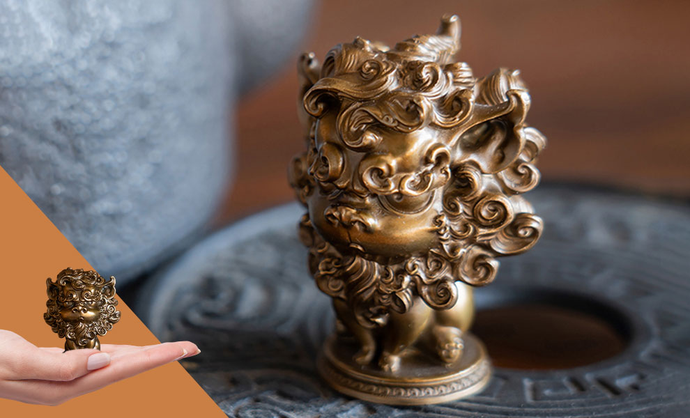 Gallery Feature Image of Mythical Beast – Pixiu Statue - Click to open image gallery