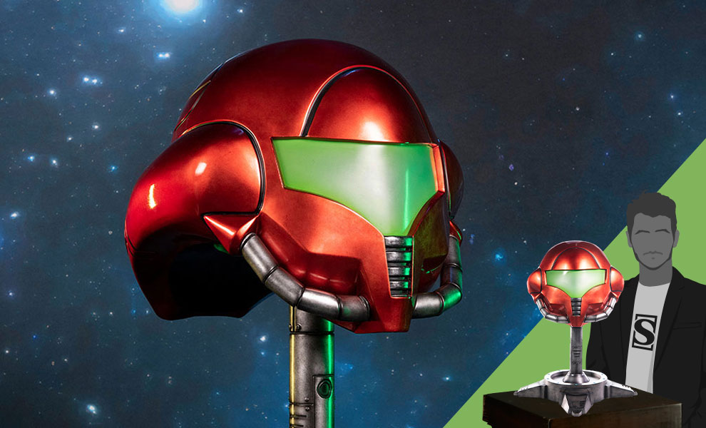 Gallery Feature Image of Samus (Standard Edition) Helmet - Click to open image gallery