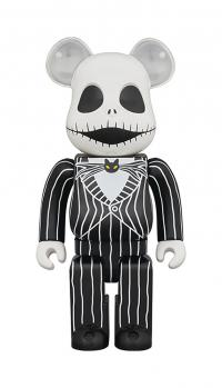 Gallery Image of Be@rbrick Jack Skellington (2021) 1000% Collectible Figure