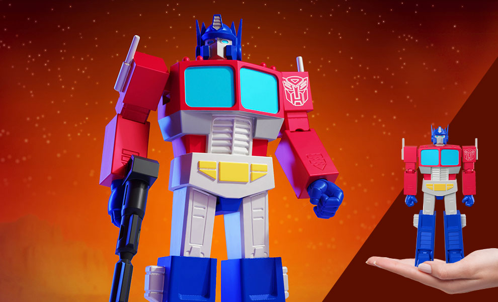 Gallery Feature Image of Optimus Prime Action Figure - Click to open image gallery