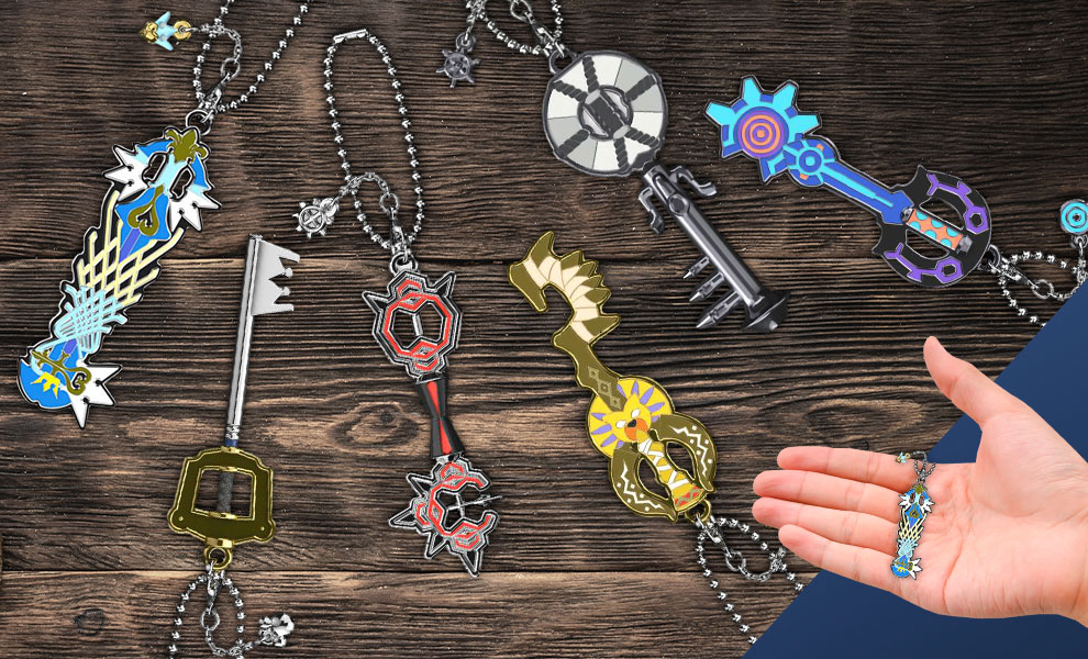 Gallery Feature Image of Kingdom Hearts Keyblade Collection Collectible Set - Click to open image gallery